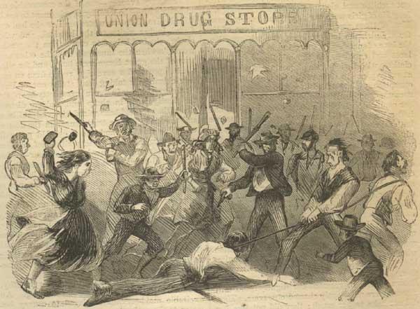 マンハッタンを歩く:Part II :アメリカ史上最大の暴動 「徴兵暴動」