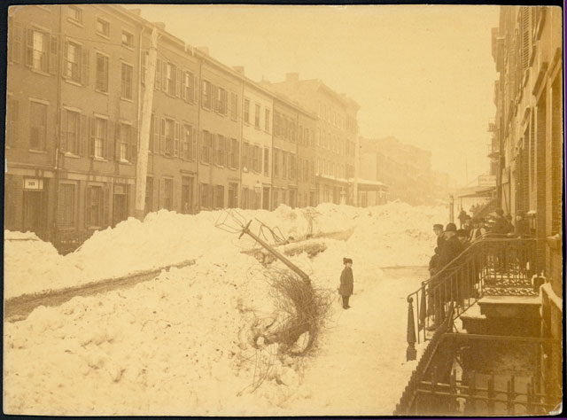 Blizzard of 1888 - West 13th Street