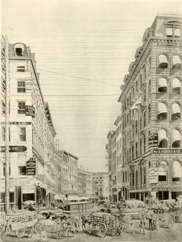 Maiden Lane About 1885