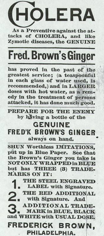 Fred Brown's Ginger