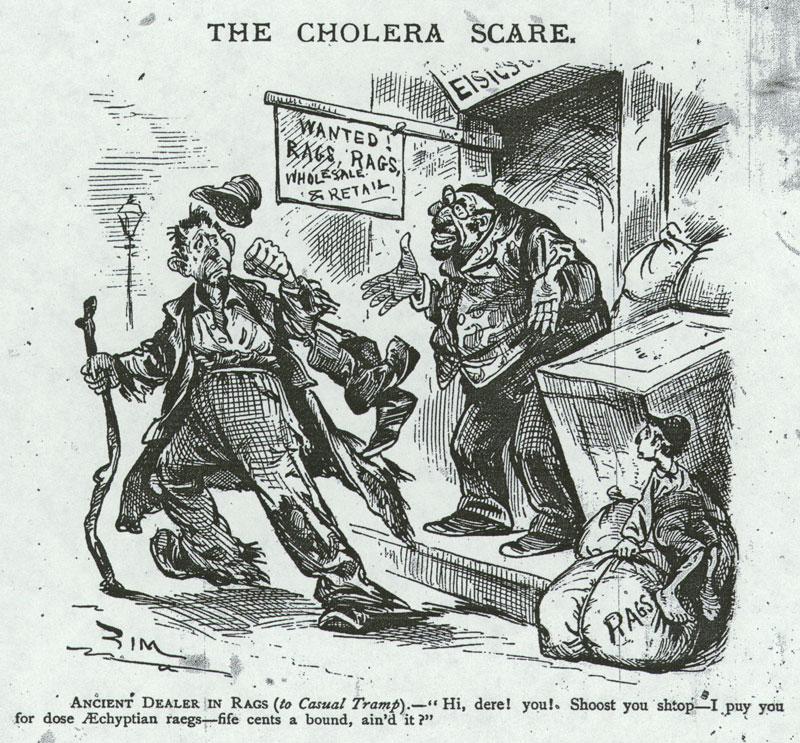 The Cholera Scare